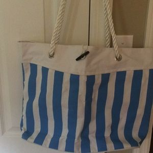 Beach bag like new water repellent fabric